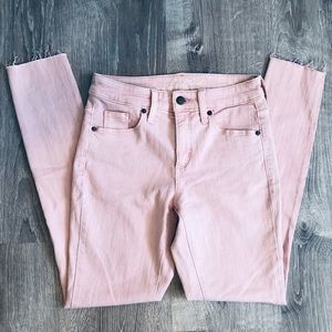 Pink Jeans High Rise Skinny